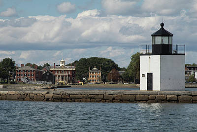 Photograph - View Of Salem Maritime National Historical Site by Jeff Folger