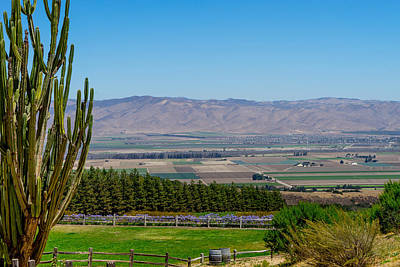 Photograph - View Of Salinas Valley by Derek Dean