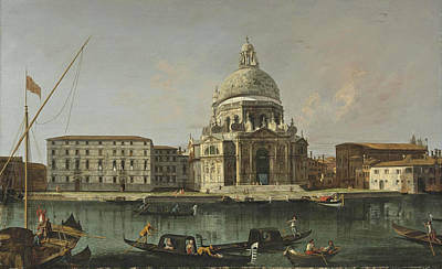 Painting - View Of Santa Maria Della Salute. Venice by Francesco Albotto