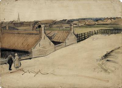 Painting - View Of Scheveningen The Hague, Summer - Autumn 1882 Vincent Van Gogh 1853  1890 by Artistic Panda