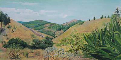Painting - View Of Segesta I by Maria Rizzo