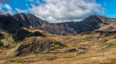 Miner Photograph - View Of Snowdon by Adrian Evans