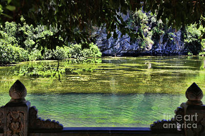 Photograph - View Of Tam Coc Reserve Vietnam IIi by Chuck Kuhn