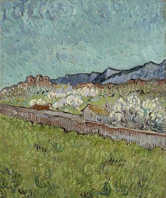 Painting - View Of The Alpilles Saint Remy De Provence, 1890 Vincent Van Gogh 1853  1890 by Artistic Panda