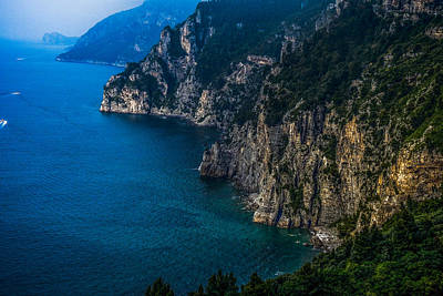 Photograph - View Of The Amalfi Coast by Marilyn Burton