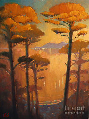 View Of The Bay Art Print by Robert Lewis