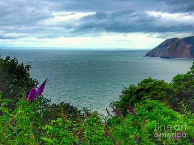 Photograph - View Of The Bristol Channel  by Joan-Violet Stretch
