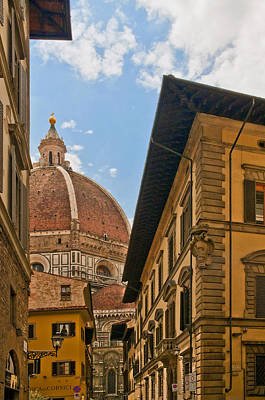 Photograph - View Of The Duomo by Mick Burkey