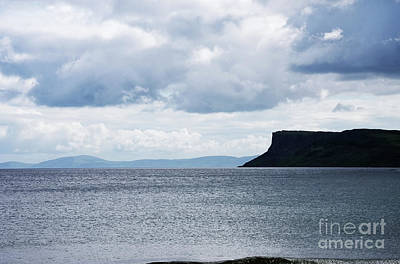 Photograph - View Of The Hills Of Scotland From Ireland by Vizual Studio