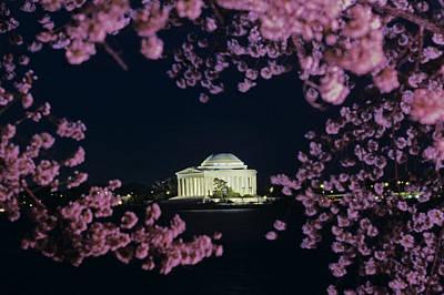 View Of The Jefferson Memorial Art Print by Kenneth Garrett