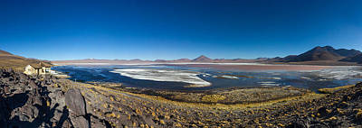 Andean Photograph - View Of The Laguna Colorada, Eduardo by Panoramic Images