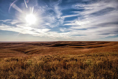 Photograph - View Of The Prairie by Scott Bean