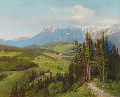 Painting - View Of The Rax Region by Mountain Dreams