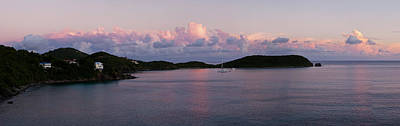 View Of The Rendezvous Bay At Sunset Art Print