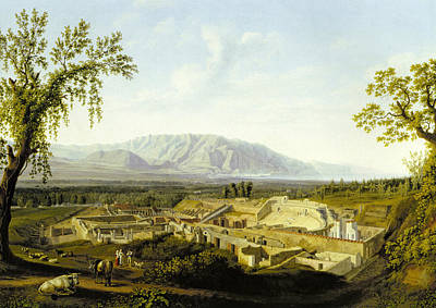 Painting - View Of The Ruines Of Pompeii by Treasury Classics Art