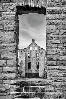 Photograph - View Of The Ruins 2 by Dennis Hedberg