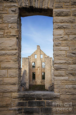 Photograph - View Of The Ruins by Dennis Hedberg