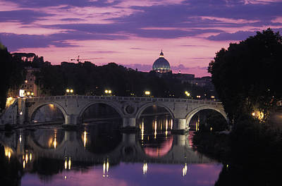 Saint Peters Basilica Photograph - View Of The Saint Peters Basilica by Richard Nowitz