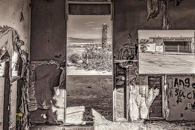 Photograph - View Of The Salton Sea by Jim Thompson