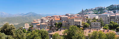 Sud Photograph - View Of The Sartene, Corse-du-sud by Panoramic Images