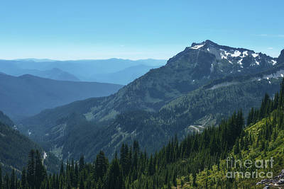 Photograph - View Of The Tatoosh by Sharon Seaward