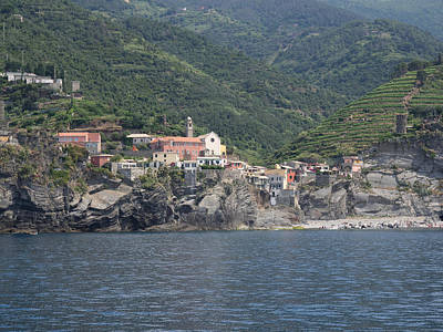 View Of The Vernazza, La Spezia Art Print by Panoramic Images