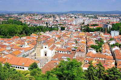 Photograph - View Of Tomar by Fabrizio Troiani