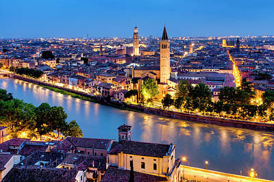 Photograph - View Of Verona by Fabrizio Troiani