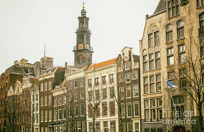 Photograph - View On Amsterdam Architecture by Patricia Hofmeester