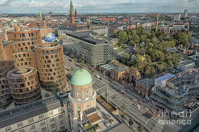 Photograph - View On Copenhagen by Patricia Hofmeester