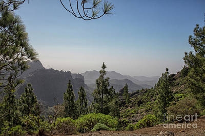 Photograph - View On Gran Canaria by Patricia Hofmeester