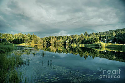 Photograph - View On Lake Rejean by Aimelle ML