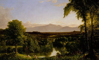 New York Painter Painting - View On The Catskill Early Autumn by Thomas Cole