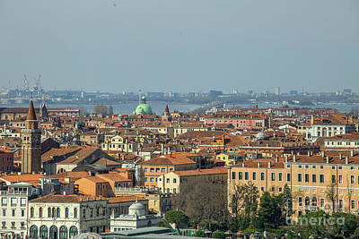Photograph - View On Venice by Patricia Hofmeester