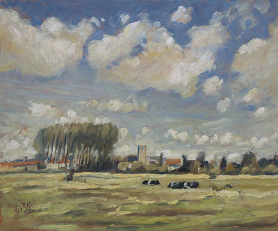 Painting - View On Wareham Dorset Uk by Nop Briex