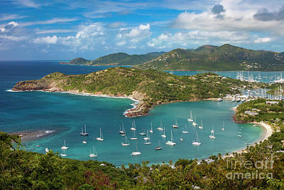 Photograph - View Over Antigua by Brian Jannsen