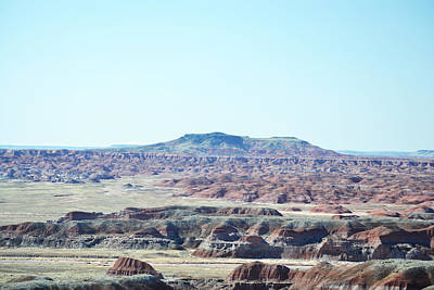 Photograph - View Over Arizona Painted Desert by rd Erickson