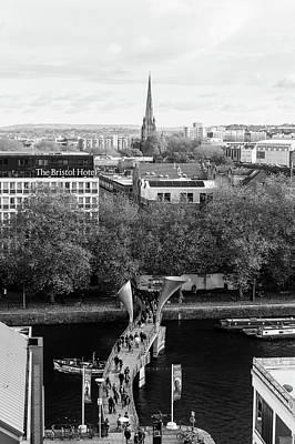 Photograph - View Over Bristol C by Jacek Wojnarowski
