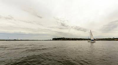Photograph - View Over Cardiff Bay F by Jacek Wojnarowski