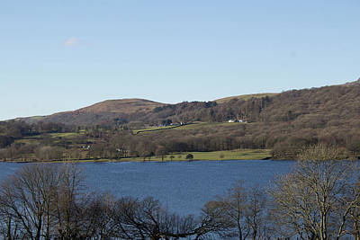Photograph - View Over Coniston Lake by JLowPhotos