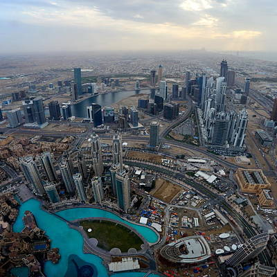 Photograph - View Over Dubai by Jouko Lehto