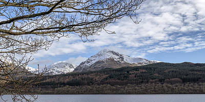 Photograph - View Over Loch Lomond by Jeremy Lavender Photography