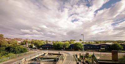 Photograph - View Over Netham Lock Bristol England by Jacek Wojnarowski