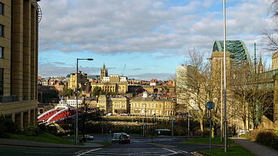 Photograph - View Over Newcastle by Jacek Wojnarowski