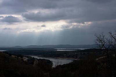 Photograph - View Over Table Rock Lake by Gwen Vann-Horn