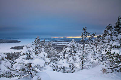 Photograph - View Over The High Coast Archipelago by Ulrich Kunst And Bettina Scheidulin