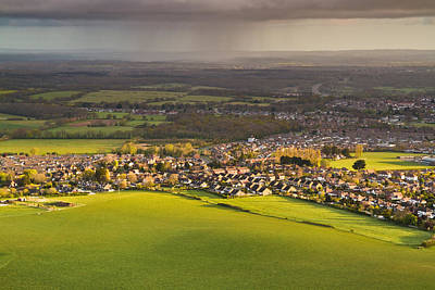 Photograph - View Over Wannock by Will Gudgeon