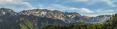 Photograph - View South From Grandeur Peak Trail by Spencer Baugh