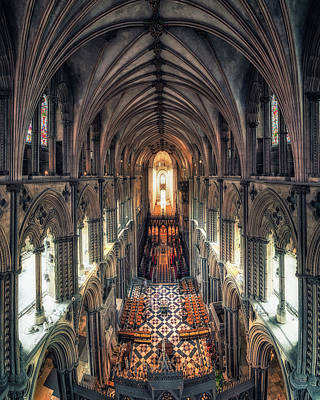 Photograph - View Through Ely Cathedral by James Billings