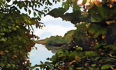 Photograph - View Through The Trees by Cedric Hampton